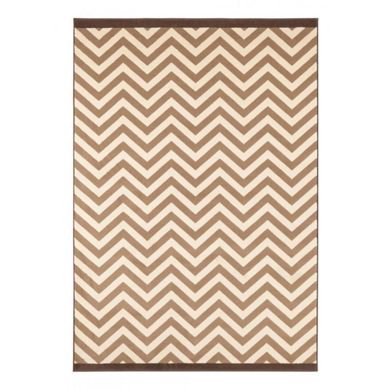 Moderní kusový koberec Celebration 103455   hnědý