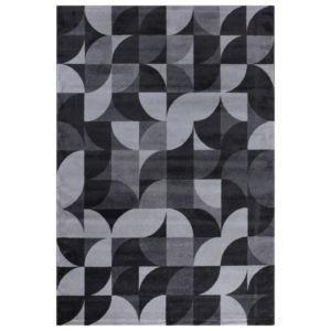 Moderní Kusový koberec Enjoy 830 Šedý-Bílý