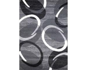 Moderní kusový koberec Florida šedý 9828