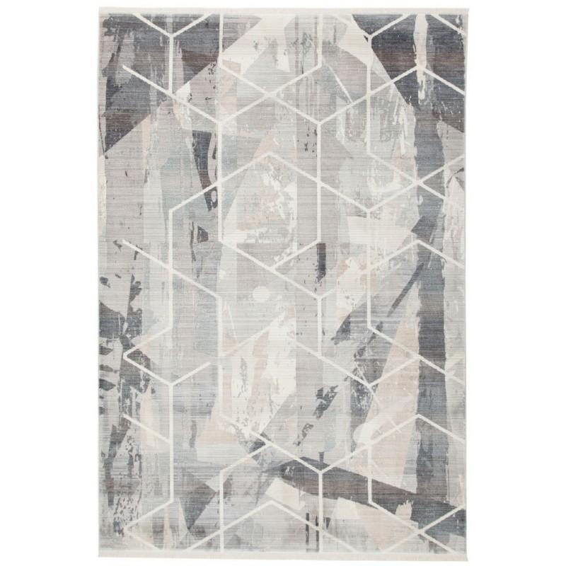 Moderní kusový koberec Laos 458   šedý
