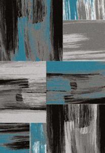 Moderní kusový koberec Lima 1350 Turkis | tyrkysový