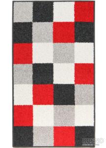 Moderní kusový koberec Lotto 923/FM6X | červený