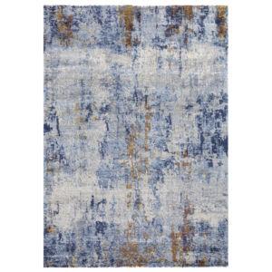 Moderní Kusový koberec Luxury 350 Modrý