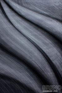 Moderní kusový koberec Miami 6630 Black   černý
