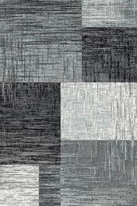 Moderní kusový koberec Plus 8001 Black | černý