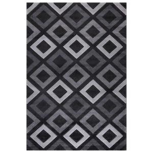 Moderní Kusový koberec Relax 220 Antracit