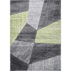 Moderní kusový koberec Warner AG004 | zelený