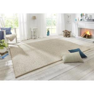 Moderní kusový koberec Wolly 102843   krémový