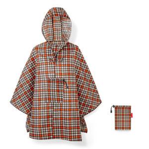 Plaštěnka Poncho Reisenthel Mini Maxi Glencheck Red