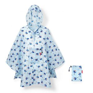 Plaštěnka Poncho Reisenthel Mini Maxi Leaves Blue