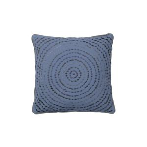 Povlak na polštář Broste Felicia modrý