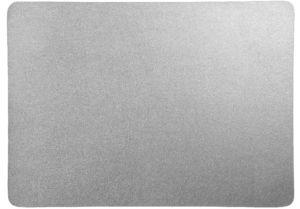 Prostírání ASA Selection 33×46 cm imitace kůže   stříbrná