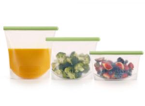 Sada silikonových sáčků na potraviny Lékué Kit 3 Reusable Silicone Bags | 3ks