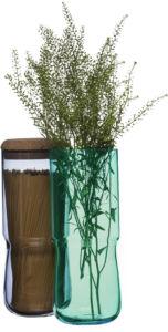 SAGAFORM SEA Aqua váza/dóza vysoká modrá