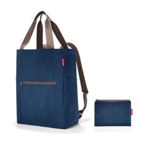 Skládací batoh / taška Reisenthel Mini Maxi 2-in-1 Dark Blue