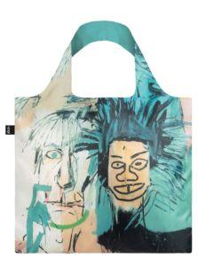 Skládací nákupní taška LOQI JEAN MICHEL BASQUIAT Warhol