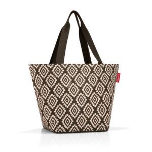 Stylová taška Reisenthel Shopper M Diamonds Mocha