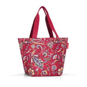 Stylová taška Reisenthel Shopper M Paisley Ruby