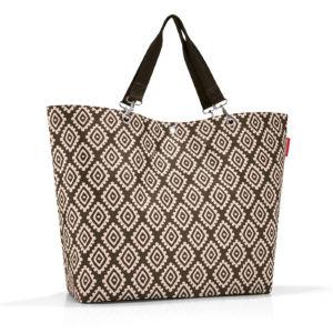 Stylová taška Reisenthel Shopper XL Diamonds Mocha