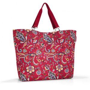 Stylová taška Reisenthel Shopper XL Paisley Ruby