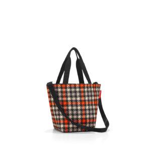 Stylová taška Reisenthel Shopper XS Glencheck Red