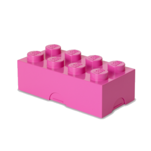 Svačinový box Lego Storage Lunch Box | růžová