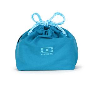 Taška na svačinový box MonBento Pochette Denim | tmavě modrá