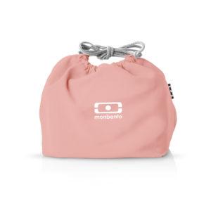 Taška na svačinový box MonBento Pochette Flamingo | lososová