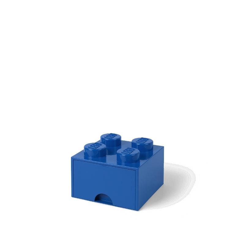 Úložný box se šuplíkem Lego Storage Box Drawer 4   modrá