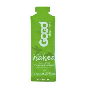Good Clean Love lubrikační gel Téměř nahá 5 ml