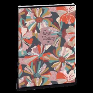 Ars Una Sešit květinová koláž A4 linkovaný
