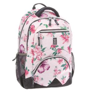 Ergonomický školní batoh Flowers