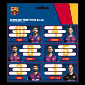 Jmenovky na sešity FC Barcelona 19