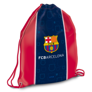 Sáček na přezůvky FC Barcelona 32×42 cm