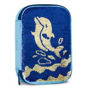 Školní penál Delfín měnící