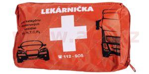 autolékárnička SK – textilní (výbava dle vyhlášky MZ SR č.143 / 2009) oranžová
