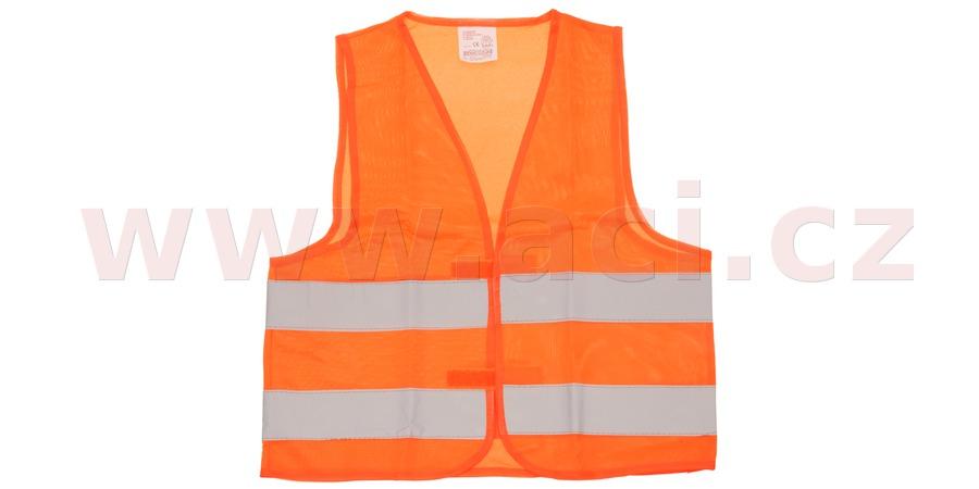 Dětská reflexní vesta oranžová