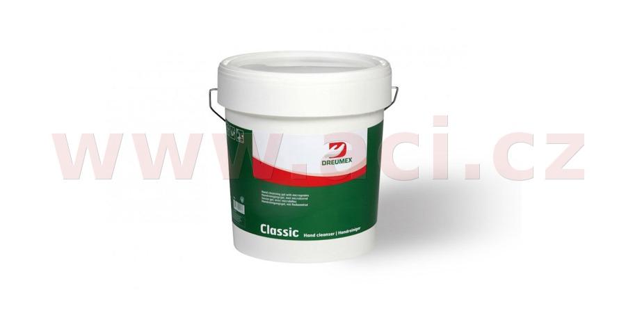 DREUMEX CLASSIC čisticí gel na ruce – červená 15 l