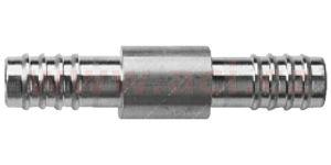 spojka hliníková namačkávací 180° pro hadice G10 (13 mm)