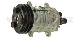 univerzální kompresor ZEXEL TM16 12V, řemenice 119 mm, PV8, horizontální rotalock R134a/R404a