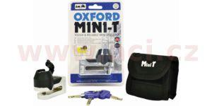 zámek kotoučové brzdy Mini T, OXFORD – Anglie (chrom)