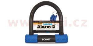 zámek U profil Alarm-D Scoot, OXFORD – Anglie (integrovaný alarm, průměr čepu 16 mm)
