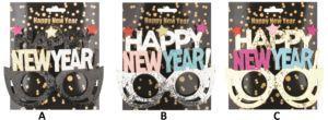 Brýle HAPPY NEW YEAR
