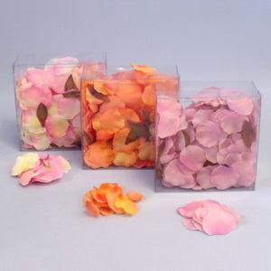 Umělé okvětní lístky růže 330ks   mix barev