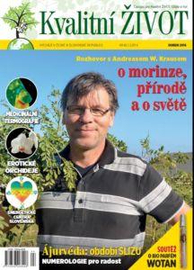 Časopis Kvalitní ŽIVOT   4. číslo DUBEN 2016 tištěný