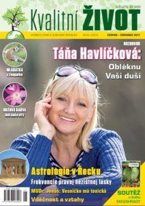Časopis Kvalitní ŽIVOT ČERVEN+ČERVENEC 2017 tištěný