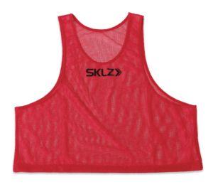 SKLZ Training Vest (Red – Adult), červený rozlišovací dres pro dospělé