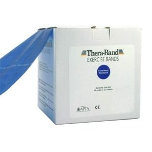 Thera-Band posilovací guma 45,5 m, modrá, extra silná