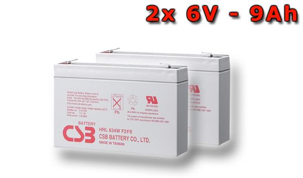 Baterie UPS Eaton Evolution 650 rack – alternativa bez příslušenství