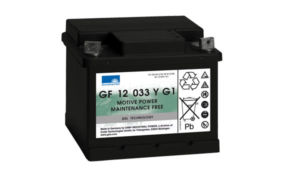 Gelový trakční akumulátor SONNENSCHEIN GF 12 033 Y G1, 12V, C5/33Ah, C20/38